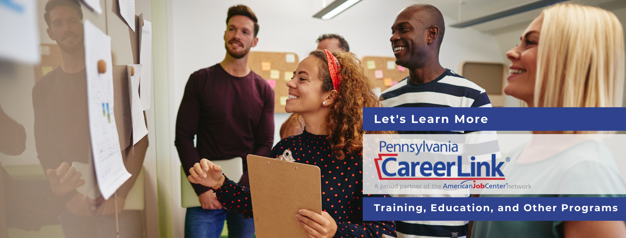 Training, Education, and Other Programs Page Header